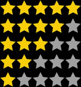 Bewertungen schreiben lassen und Sterne sammeln
